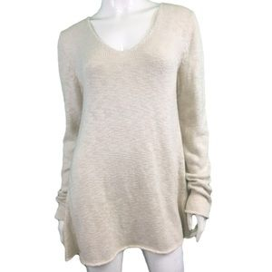 NWT Indigenous Cream Knit Sweater